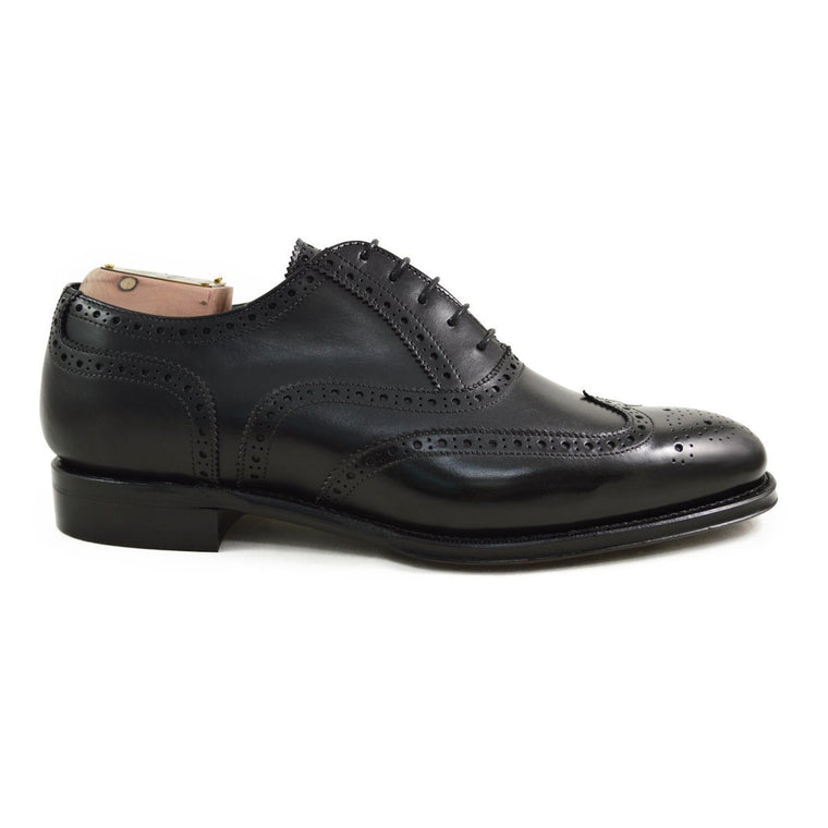 Berwick 1707 Wingtip Brogue - Black