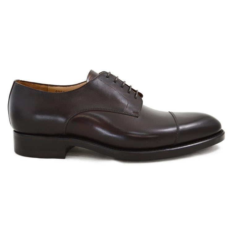 Carlos Santos Derby Shoe in Guimaraes Patina