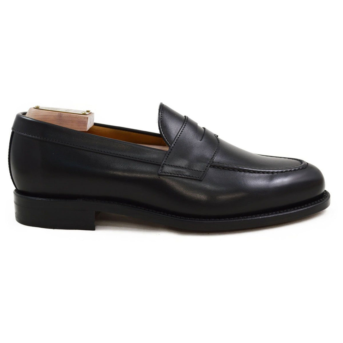 Berwick 1707 Penny Loafer - Black