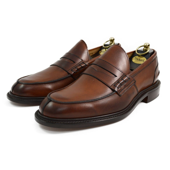 Trickers JAMES - Chestnut