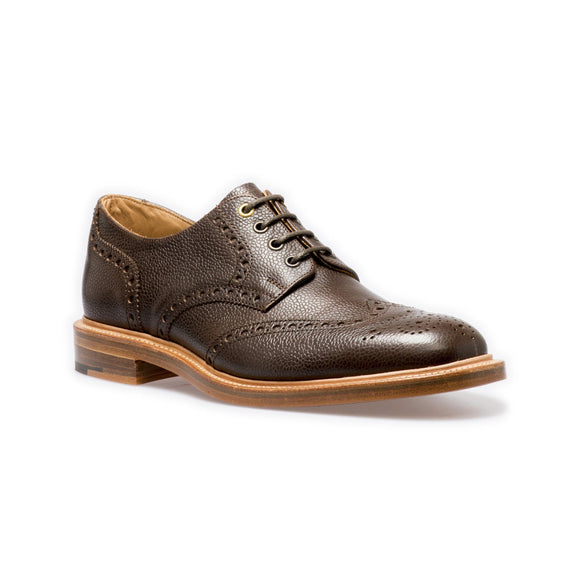 NPS WILSON Gibson Brogue Shoes - Walnut Grain
