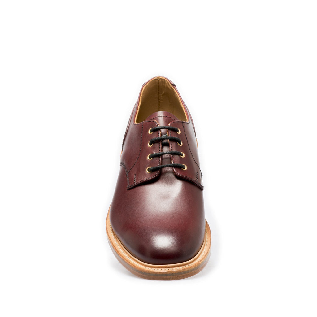 NPS BLAIR Plain Gibson Shoes - Burgundy
