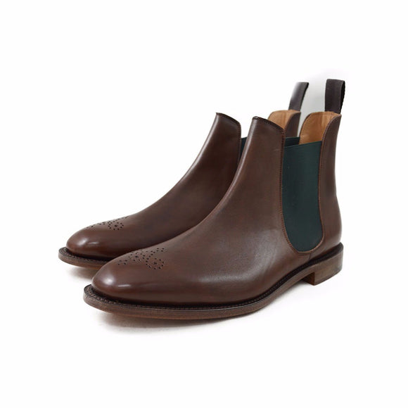 NPS STANLEY Chelsea Boot - Dark Brown