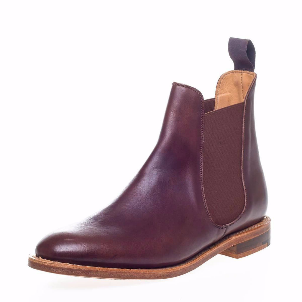 nps womens brown chelsea boots a pair
