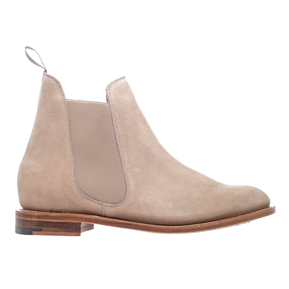 NPS Womens Victoria Sand Suede Chelsea Boots