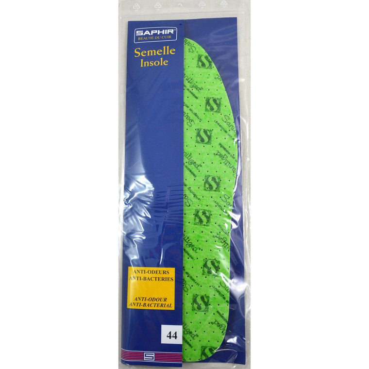 Saphir Latex Foam Pine Green Anti Bacterial Insoles