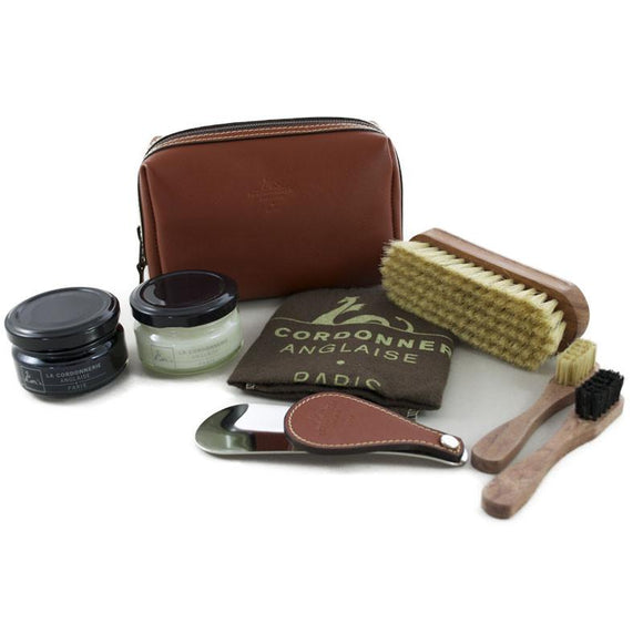 La Cordonnerie Anglaise Clipper Shoe Care Kit - Jaguar