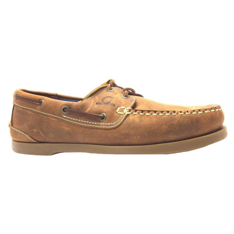 Chatham DECK II G2 BOAT SHOE - Walnut (Size 9 Only)