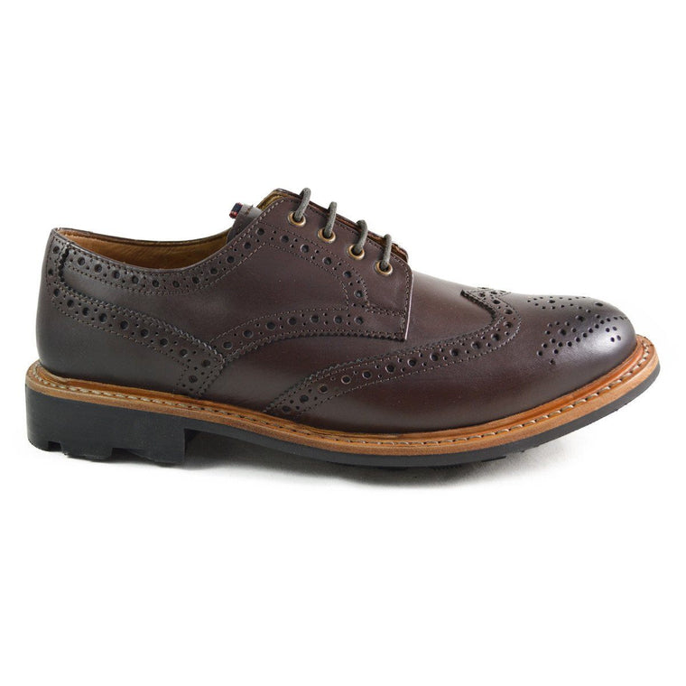 Chatham EATON Brogues - Dark Brown