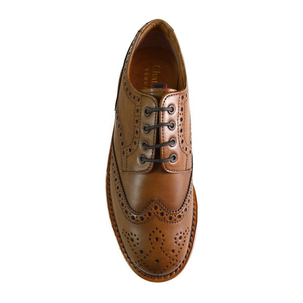 Chatham EATON Brogues - Tan