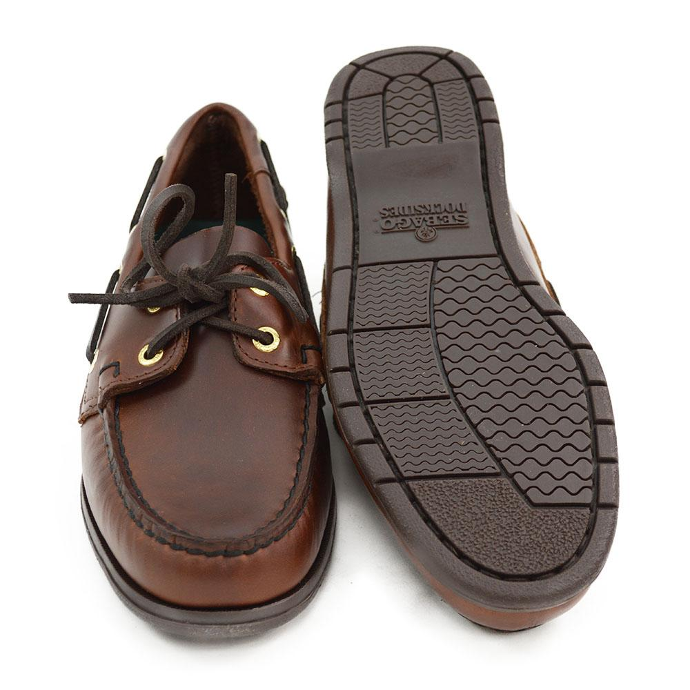 9aa5a893a6 Sebago Endeavour Brown Oiled Waxy Deck Shoes - A Fine Pair of Shoes ...