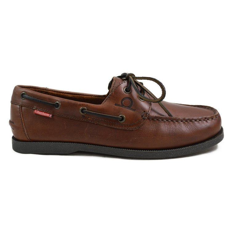 Chatham GALLEY BOAT SHOE - Dark Brown
