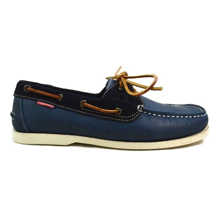 Chatham GALLEY BOAT SHOE - Navy