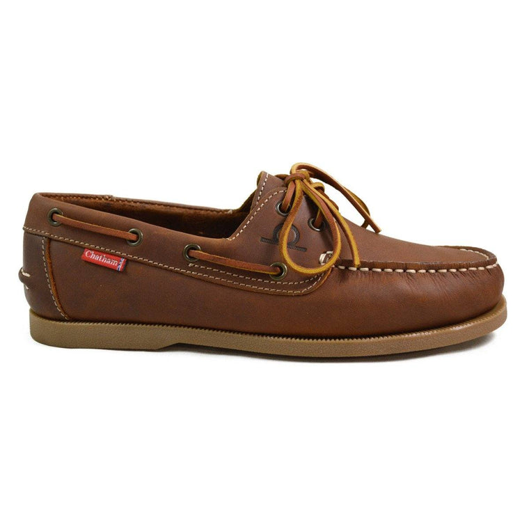 Chatham GALLEY BOAT SHOE - Walnut