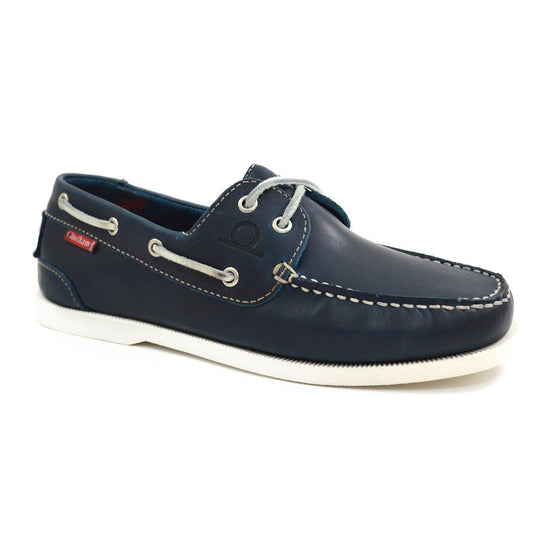 Chatham GALLEY II BOAT SHOE - Navy