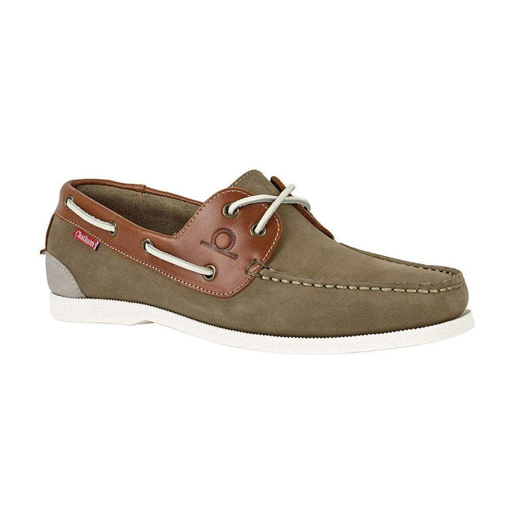 Chatham GALLEY II BOAT SHOE - Khaki/ Tan