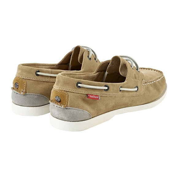 Chatham GALLEY II BOAT SHOE - Sand Suede