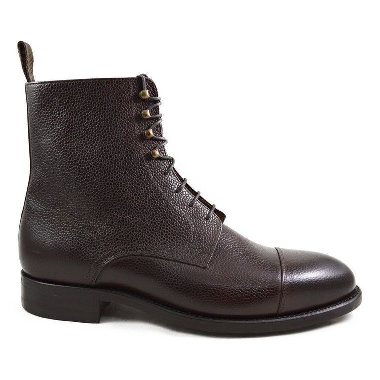Carlos Santos Jumper Boot in Brown Grain - 12F
