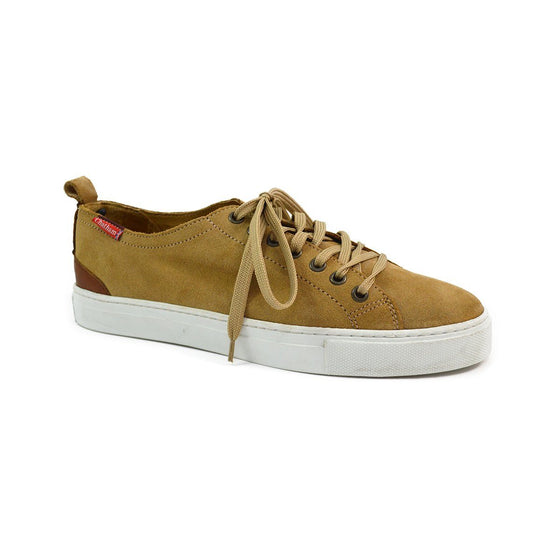 Chatham HERON Lace Up Trainers - Sand Suede