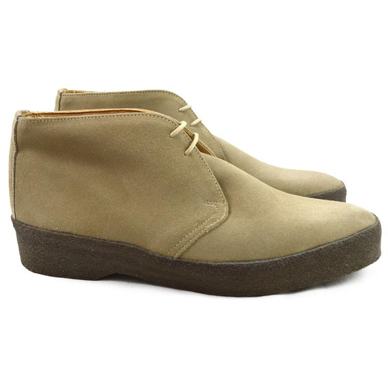 Sanders HI-TOP Chukka Boot - Dirty Buck Suede