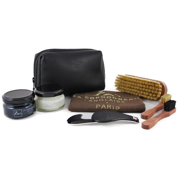 La Cordonnerie Anglaise Clipper Shoe Care Kit - Black