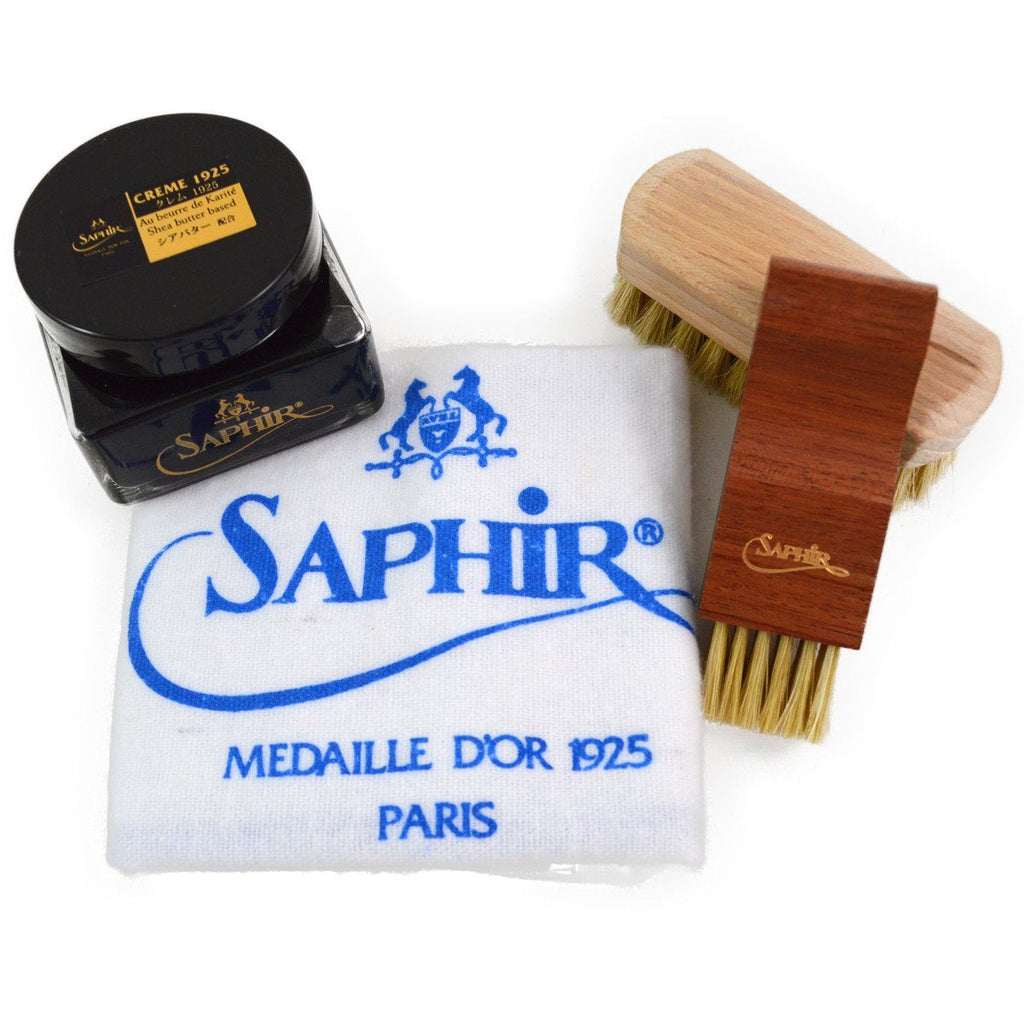 Saphir Medaille D'Or Luxury Leather Care Set