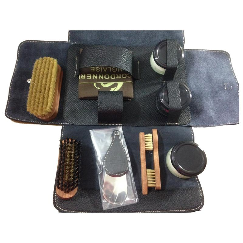 La Cordonnerie Anglaise Nomad Shoe Care Kit - Black