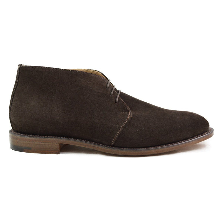 NPS RUSSELL Chukka Boot - Dark Brown Suede