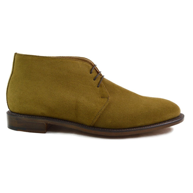 NPS RUSSELL Chukka Boot - Light Tan Suede last pair 12F