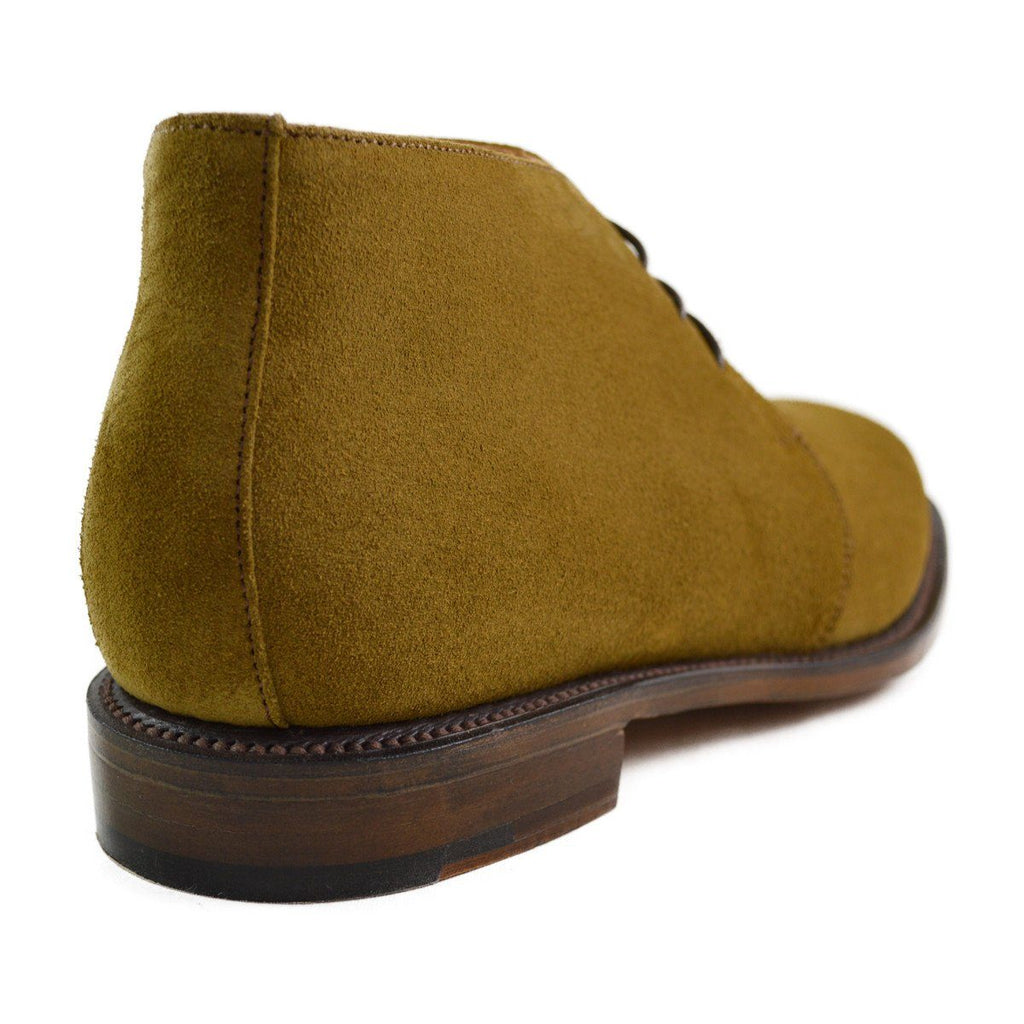 NPS RUSSELL Chukka Boot - Light Tan Suede 12F (Last Pair)