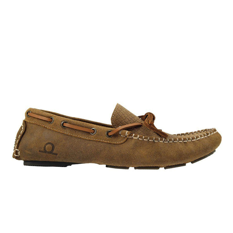 Chatham RILEY Suede Driving Shoe - Tan