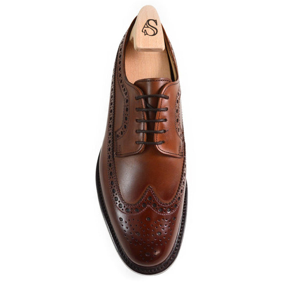 Alfred Sargent SHOREDITCH Mahogany Long Wing Brogue