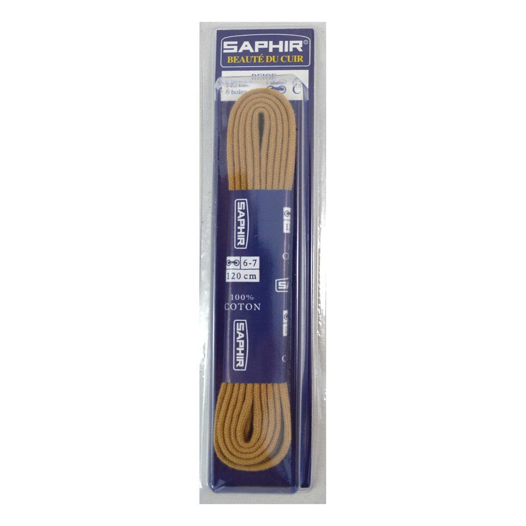 Saphir Fine 2mm Round Unwaxed Laces