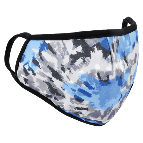 Blue Tie Dye Childs Face Mask