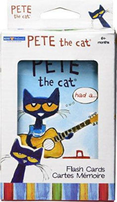 Pete The Cat Flash Cards