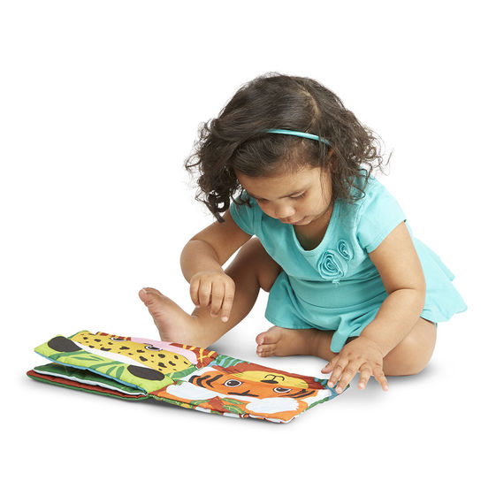 K's Kids Mix & Match Cloth Book