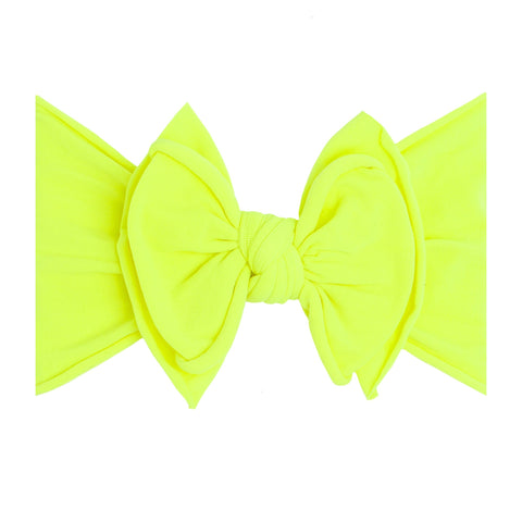 Neon Yellow Safety FAB Headband