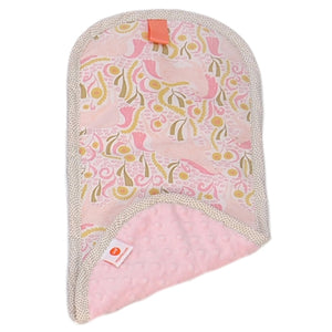 Burp Cloth - Lsabel Light Pink
