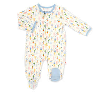 Ice Ice Cream Baby Modal Magnetic Footie
