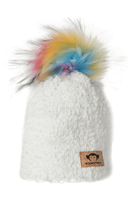 Boucle Winter White Hat