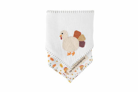 Thanksgiving Bandana Bibs Set