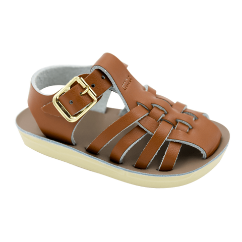 Baby Sailor Tan Sandals