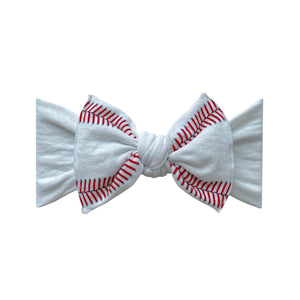 Ball Game Printed Knot Headband