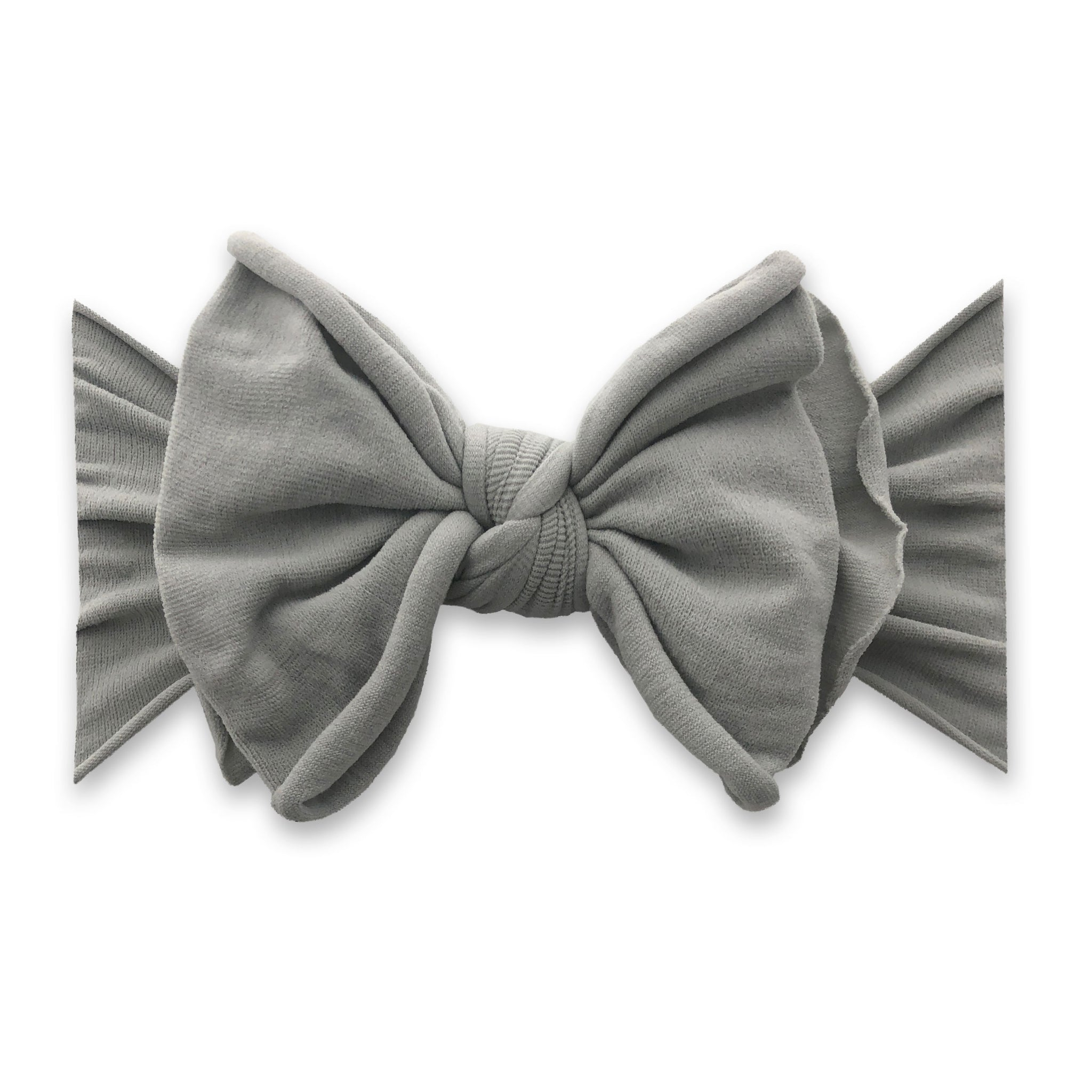 Grey Fab-Bow-Lous Headband