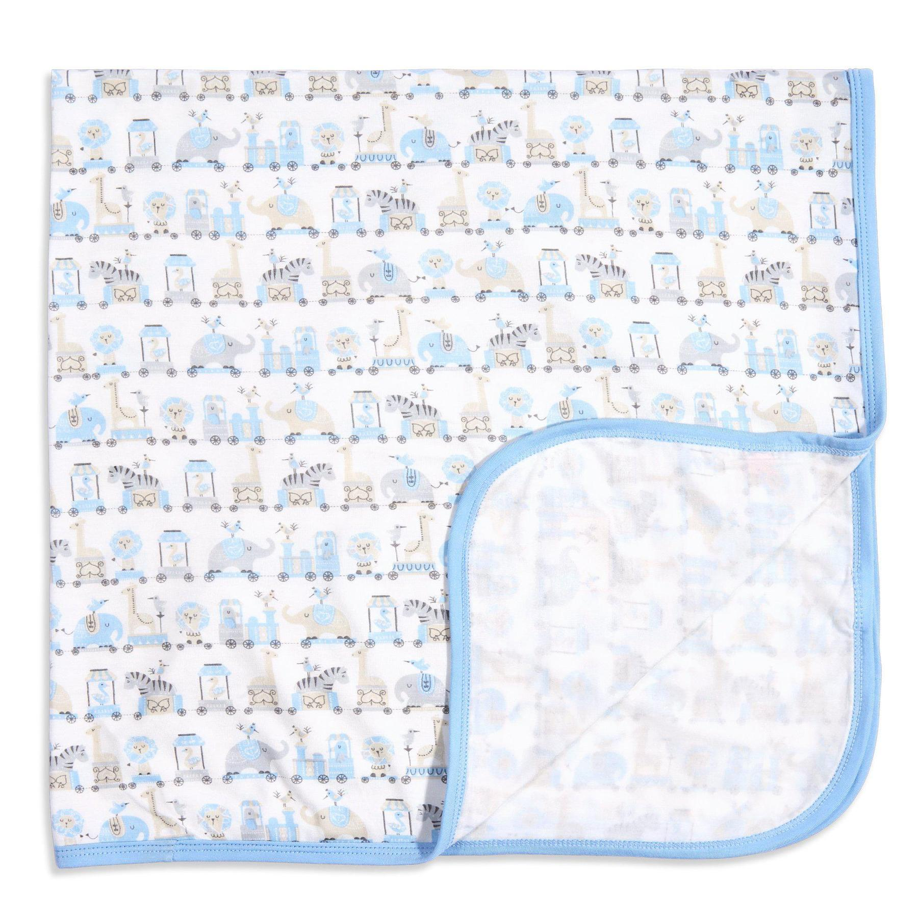 Blue Taj Express Modal Swaddle Blanket