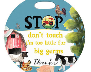 Farm Stop Germs Tag