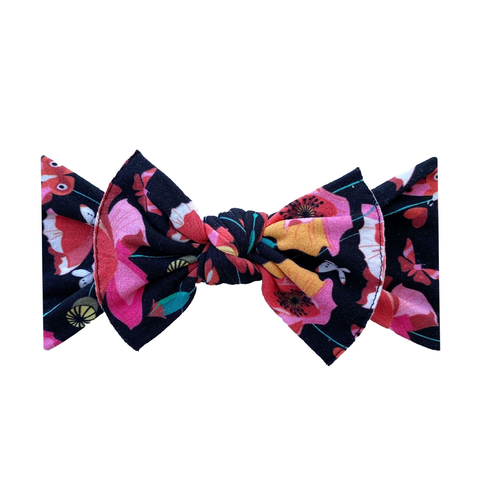 Snap Dragon Printed Knot Headband