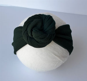 Emerald Top Knot Headband