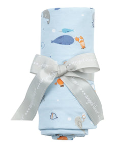 Happy Oceans Swaddle