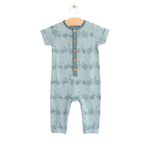 Bike long Button Romper
